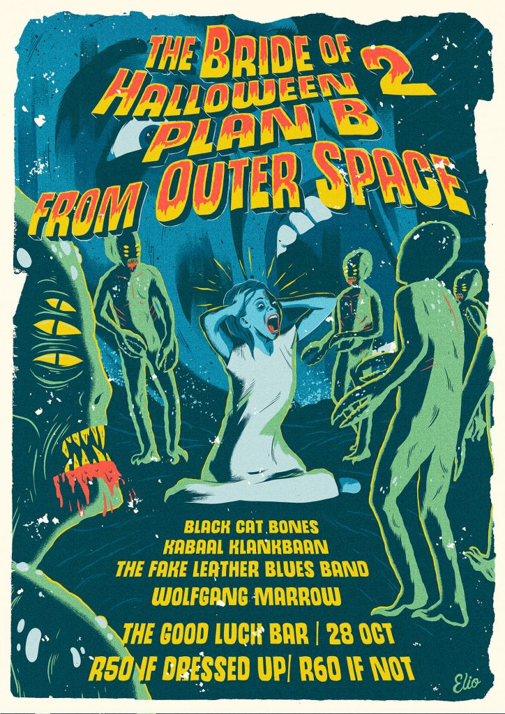 The Bride of Halloween 2: Plan B from Outer Space